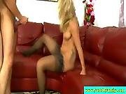 Step Daughter In Threesome With Stepdad