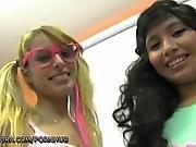 Putalocura Girl Gets A Bukkake Mouthful