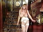 I Luv The 80 S - Vintage Big Tits Striptease Stockings Dance