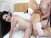 Lesbian Want This Milf Bear Necessities