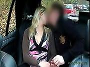 blonde,  fucking,  taxi