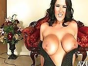 Carmella Bing can be seen riding the sybian