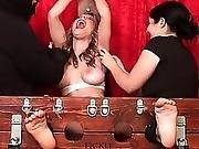 Milf Topless Tickling