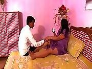 Hot Busty Indian Aunty Try To Seduce Her Servant During Massage