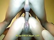 Rectal Passage And Lovely Round Buttocks