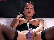 Sasha Cane - Smoking Masturbation 1