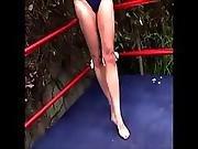 blonde,  catfight,  wrestling