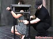 Immobilized Sub Punished By Dom