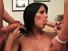 amateur,  blowjob,  brunette,  college,  hardcore,  hat ,  milf,  old ,  rough,  smoothie,  tattoo,  threesome,  workplace