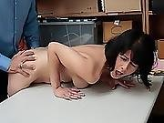 Thief Penelope Reed Gets Set Straight With Hard Fuck