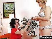 Extremely Shaggy Amateur Madame Hedvika Lesbian Action