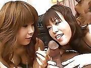 3 Japanese Girls Interracial 4of4