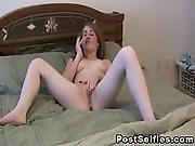 Sweet Solo Girl Fingering Her Pussy