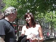 Doggystyled Amsterdam Hooker Acquires Cumshowered