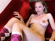 Dirty Milf Fingers Blonde To Orgasm