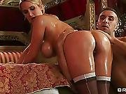 Exotic Masseur Fucking A Rich Oiled Lady
