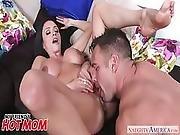 Big Tits Ariella Ferrera Gets Seduced By Her Son%5C%27s Friend   Nughty America