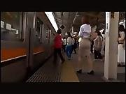 Japanese Mom In Train.flv
