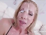 Faces Of Cum Lara De Santis