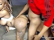 Ghetto Big Black Ass Bitch Hit Doggystyle - Camsbubble.com