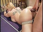 Darling Gets Hogtied And Abused By Bbc