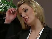 babe,  blonde,  office,  sexy