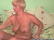 blonde,  busty,  chubby,  fingering,  grandma,  granny,  masturbation,  mature,  milf,  mom ,  old ,  shaved