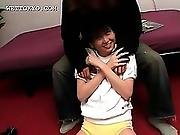 Asian Sporty Babe In Tiny Shorts Shows Her Sexy Ass