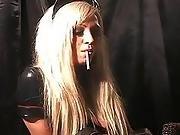 Hot Smoking Latex Nurse!