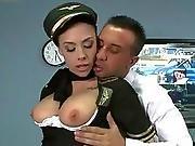 big boob,  boob,  fucking,  knockers,  model,  pornstar,  stewardess