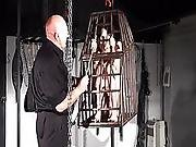 Rack Tortured And Caged Slaveslut Elise Graves Tower Of Pain Punishments And Crying American Fetish Models Cruel Submission