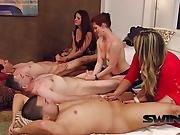 Naughty Girls Jerking Off Big Cocks