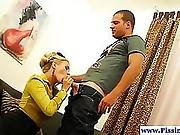 Stockinged Piss Babe Fucked And Drenched