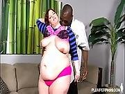 Pregnant Eliza Allure Gets Big Black Creampie