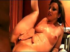 Sexy White Girl Gets A Massage Then Some Big Black Cock