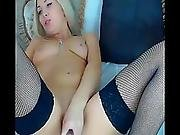 Horny And Sexy Babe Goes All Orgasmic For You