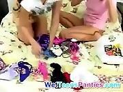 fetish,  lesbian,  panties,  panty sniffing,  pantyhose,  teen