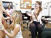 Cfnm Blowjob Party In Office