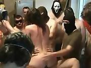 Halloween Party Gangbang