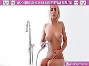 Vr Bangers Hot Blonde Alix Lynx Cought By Boyfriend Masturbating
