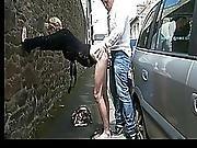 French Skinny Milf Marie Helene Public