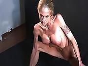 Skinny Muscular Woman 3