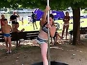 Amputee Pole Dancing