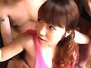 Pregnant Asian Sucking Lots Of Dicks