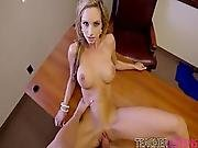 Ashley Sinclair Gets Her Pussy Rammed