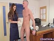 Fetish Nurses Suck Patients Cock
