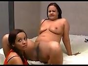 brazilian,  daughter,  lick,  mom ,  mother,  pussy,  pussy lick