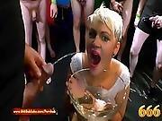 Extreme Pissing Gangbang Slut Amy Pink   666bukkake