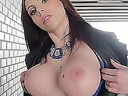 Busty Tiffany Shine Gives Up Her Tight Ass Hole For Cash