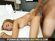 Private Casting X   Growing Fond Of Big Cock